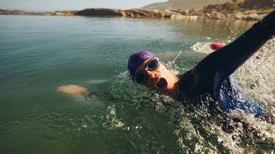 Swimming in triathlon
